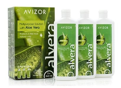 Avizor Alvera with Aloe Vera   3 x 240ml